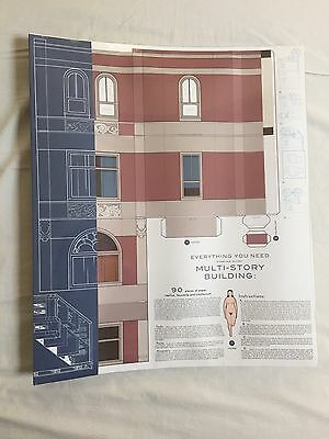 Multi-Story Chris Ware Model Building Stories Sealed Brand New Signed & Numbered