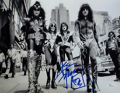 Ace Frehley KISS Signed Autographed 11x14 Photo JSA Authenticated 1