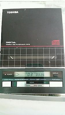 Vintage Toshiba XR-P9 Compact Disc Player