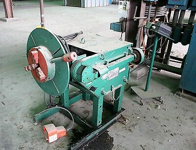 Aronson 2 Axis HD20A-PTVR3 Welding Positioner 2,500lb w/3-Jaw chuck & Foot Pedal