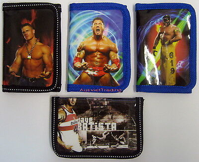 Brandnew WWE Purse John Cena Batista Rey World Wrestling Wallet tri-fold purse