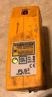 Pacific Laser Systems PLS3 Self-Leveling Laser Plumb Alignment Level Tool Tested