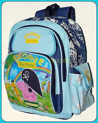 BNWT kidsLARGE brand new Peppa Pig George Bag boys preschool Backpack