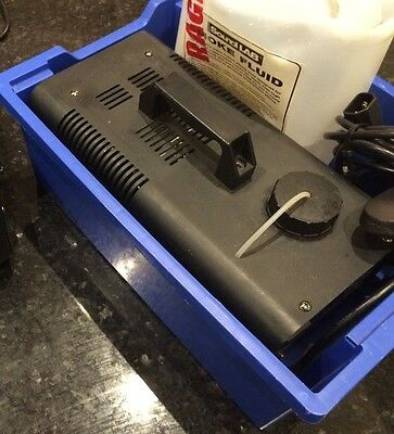 (Used) Fog smoke machine for disco, party, etc with case and controller