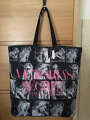 NWT Victoria's Secret Bombshell Tote Bag Black Limited Edition
