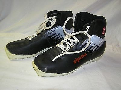 Alpina Cross Country Ski Boots Size 40 NNN II
