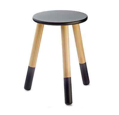 Wooden Stool Kids Children Seat Solid Wood Chair Bedside Table Home Furniture