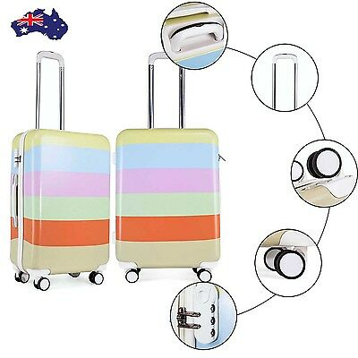 Luggage Suitcase Trolley 24'' Lightweight Hard Shell Travel Carry Case 4 Wheel