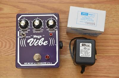 KR Musical Products Small Mega Vibe Guitar Effects Pedal - Univibe Jimi Hendrix