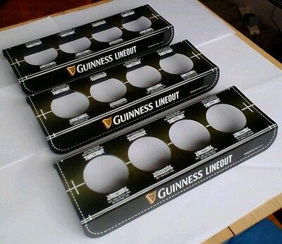 3 x GUINNESS Pub 4 PINT BEER TRAY Brand New,