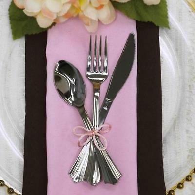 8 sets  Fork/Spoon/Knife  Catering  Disposable