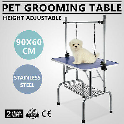 90cm Foldable Dog Cat Pet Grooming Table detachable  Height Adjustable WHOLESALE