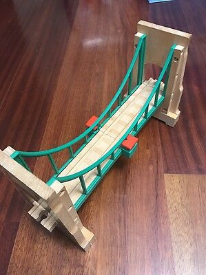 Sodor Suspension Bridge Thomas The Train By Learning Curve Wooden Track