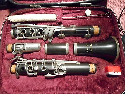 Vintage Prestige Clarinet with case, made in Czechoslovakia