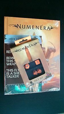 Numenera RPG Core Rulebook HC + Dice Set ~ Monte Cook Games ~ Factory sealed