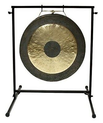 "22"" Chau Gong on Chronos Metal Gong Stand with Mallet"
