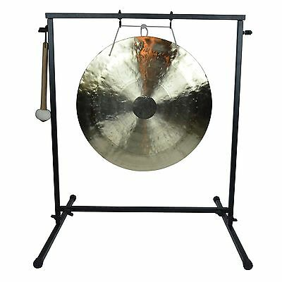 "20"" Wind Gong on Chronos Metal Gong Stand with Mallet"