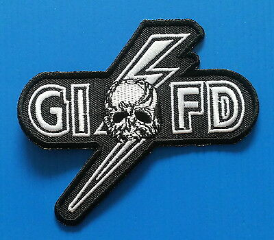 BLACK LABEL SOCIETY GIFD Metal  Embrodered Iron Or Sewn On RARE Patch Free Ship