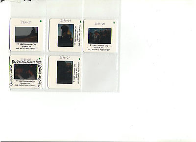 Back To The Future Part 111 Set Of 5 Slides Michael Fox Lloyd Lee Thompson Mary