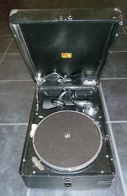 His Masters Voice Model 102D Vintage record player