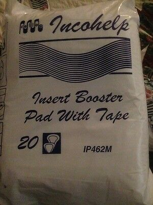 ADULT Incontinence Insert BOOSTER  PADS     8 x 20 PACKS - Pick up or post