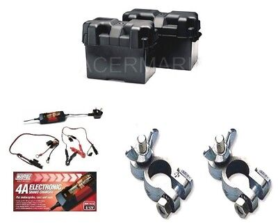 Electric Trolling Outboard Accessories Termals Battery Box Charger
