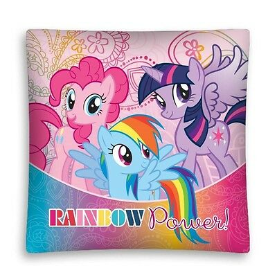 NEW LICENSED MY LITTLE PONY Rainbow Power cushion cover 40x40cm