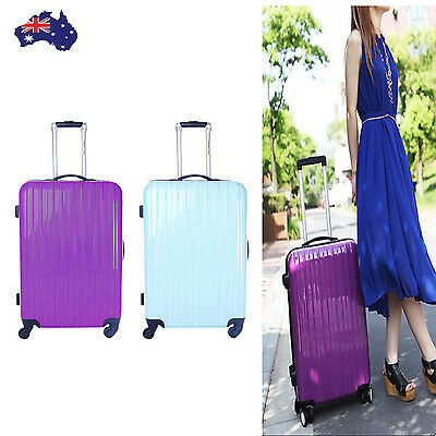 Suitcase Luggage Wheeled 20'' Travel Lightweight Case Hand Carry Bag Trolley New