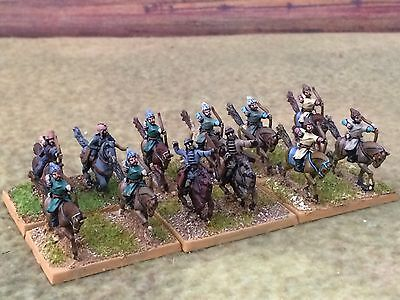 15mm DPS painted Ancient DBMM FOG ADLG Steppe Horse Archers (Huns, Mongol)  T104