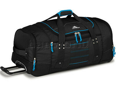 NEW High Sierra Ultimate Access Large 76cm Wheeled Backpack Duffle Black
