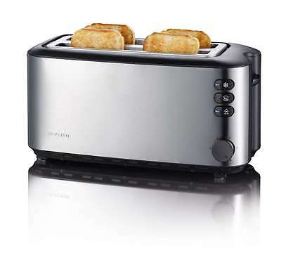 Severin Toaster AT2509 4 Slice Toaster In Brushed Stainless Steel ONLY £36.99!!
