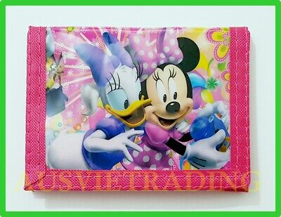 Brandnew Mickey Minnie Mouse boys girls Wallet / coin Purse tri-fold
