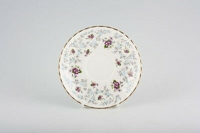 Royal Stafford Fine Bone China Saucer in Purple 'Enchanting' design