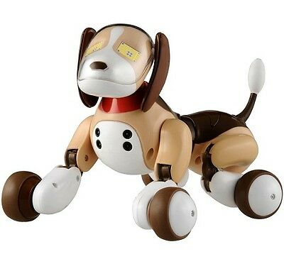 "Japanese Multi-functions Pet Dog Robot "" Hello! Zoomer Beagle"" by Takara Tomy."