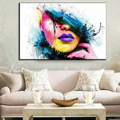 New Abstract Canvas Modern Home Wall Decor Art Painting Picture Print No Frame