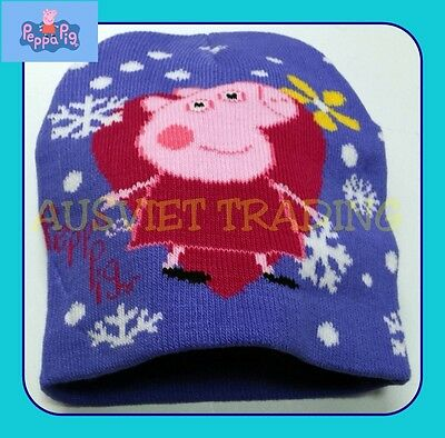 Frozen Dora Peppa Pig Bratz hat girls kids children Beanie dual layers new