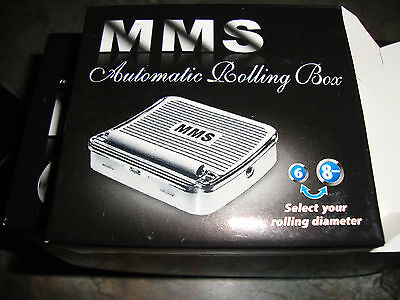 MMS Automatic Rolling Box 110mm/70mm Metal Cigarette Tobacco Rolling Machine