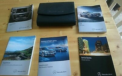 Mercedes-Benz Owners Manual + Service Book 2012-16 R172 Audio 20