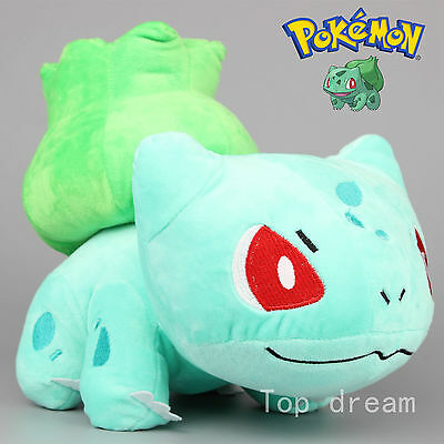 Pokemon Bulbasaur Plush Soft Toy Stuffed Animal Doll Teddy 6'' Kids Gift HU