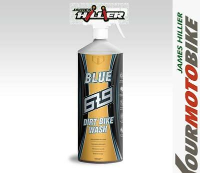 6t9 BLUE Dirt Bike Wash Enduro, Trials, MX, Motorcycle Cleaner