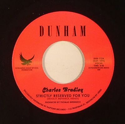 """BRADLEY, Charles - Strictly Reserved For You - Vinyl (7"""")"""