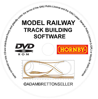 Model Railway Track Design Software - Build Simple Hornby Train Set Plans  OO