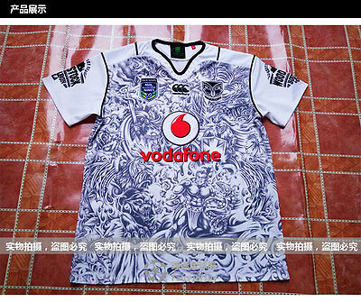 2015-16 NRL New Zealand Warriors rugby jersey