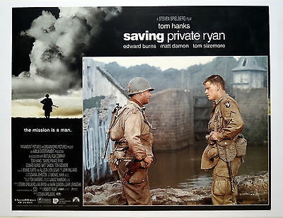 Saving Private Ryan Set of Full Size Lobby Cards