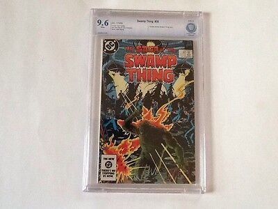 Saga of the Swamp Thing #20 DC Comics 1984 CBCS 9.6 (Like CGC) 1st Alan Moore