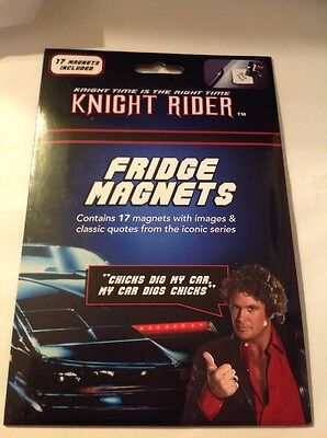 KNIGHT RIDER FRIDGE MAGNETS (17 In The Set )