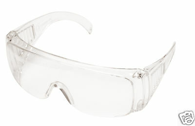 12 Portwest PW30 Visitor Safety Glasses Spectacles Over Specs Eye Protection