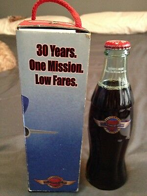 Thirty Years Southwest Airlines Coca Cola Bottle (1049)