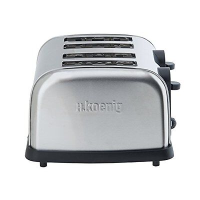 H.Koenig TOS14 Grille Pain 4 Tranches 1700 W