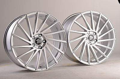 19 zoll ultra wheels ua9 felgen silber 5x108 alufelgen cvt. Black Bedroom Furniture Sets. Home Design Ideas